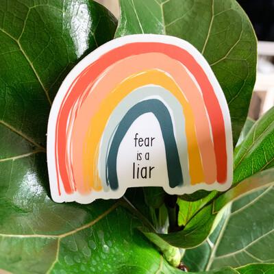 Fear is a Liar - Vinyl Sticker