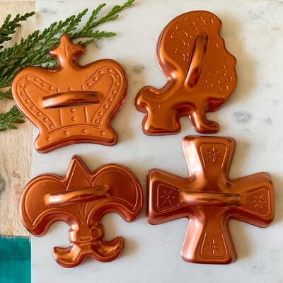 Vintage Cookie Cutter Set- Fit For a Royal