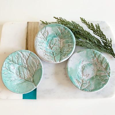 Handmade Spoon Rest/ Trinket Plate/ Soap Dish
