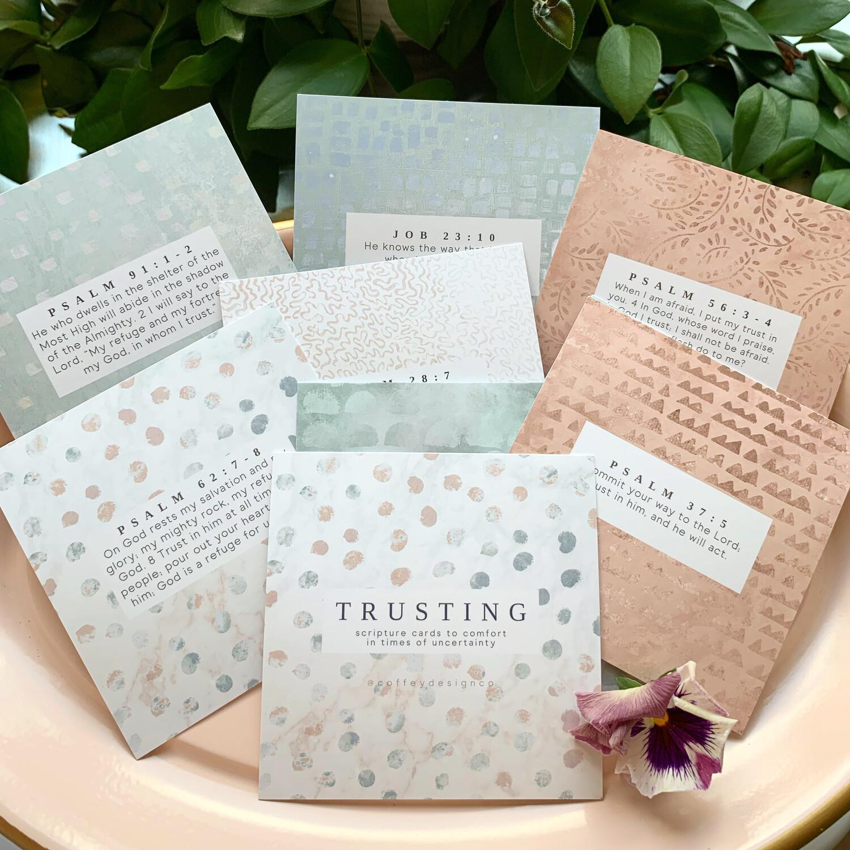 Trusting Scripture Cards