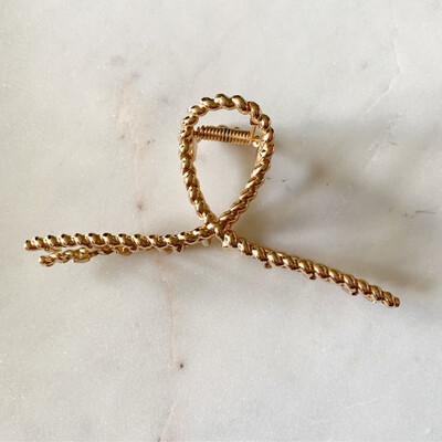 Gold Chain Hair Clip
