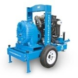 Self Priming Solids Handling Trash Pumps Engine Driven