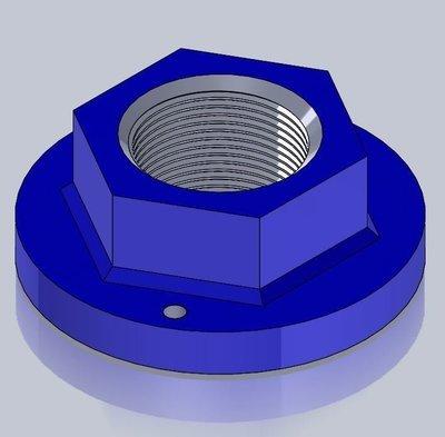 360TY Impeller Nut Mounting Kit