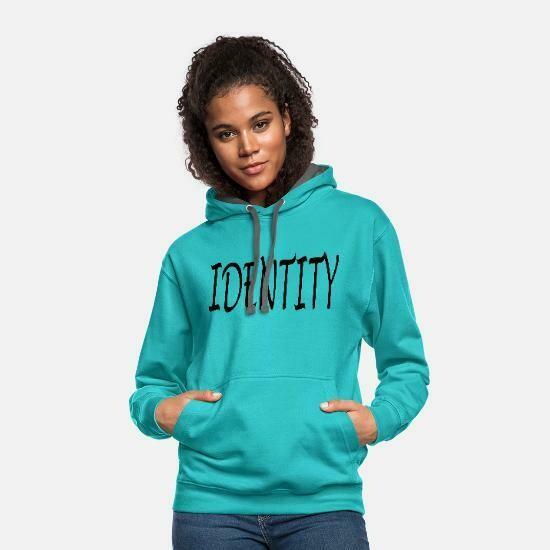 Identity Unisex Two-Tone Hoodie