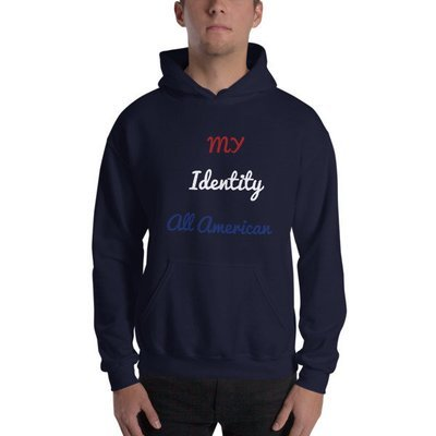 All American Identity Hooded Sweatshirt