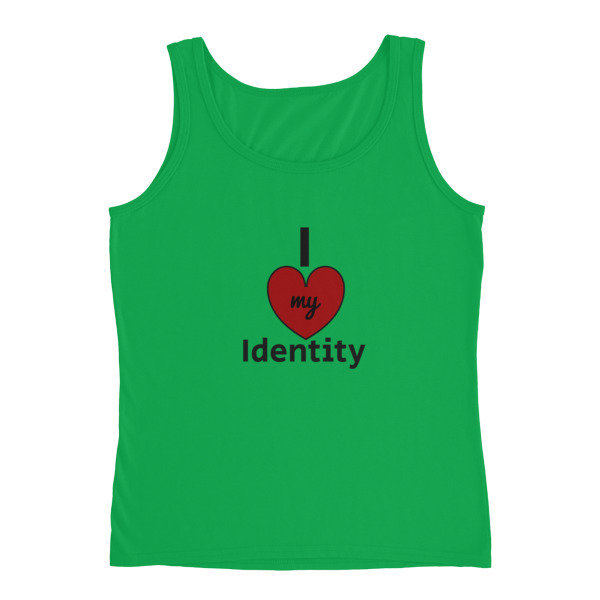 I Love my Identity Ladies' Tank