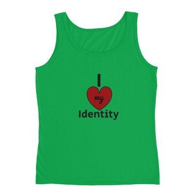 I Love my Identity Ladies' Tank