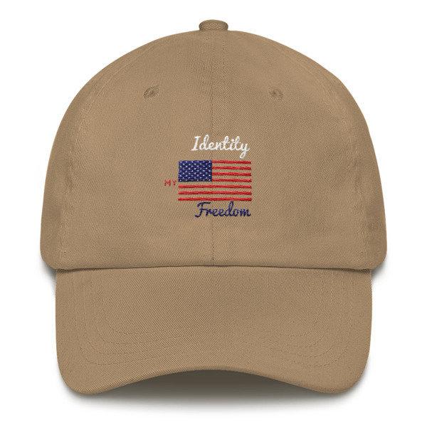 Identity Freedom Dad hat