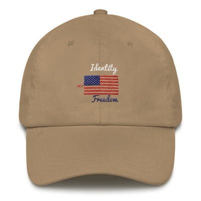 Identity Freedom Dad hat