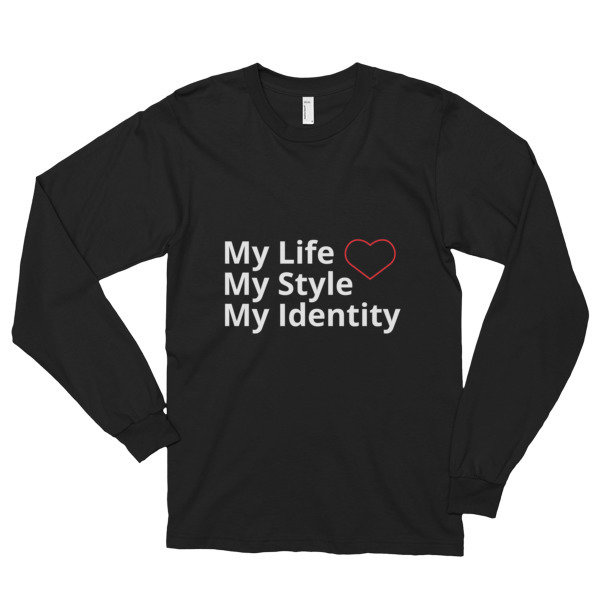 My Identity Long sleeve t-shirt (unisex)