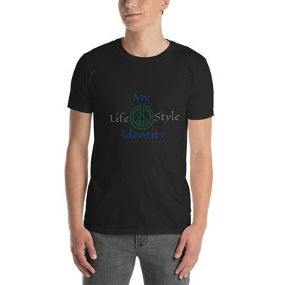 My Identity Peace Short-Sleeve Unisex T-Shirt