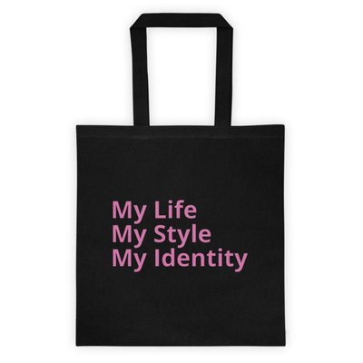 My Identity Tote bag