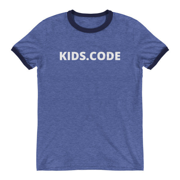 Ringer T-Shirt - blau