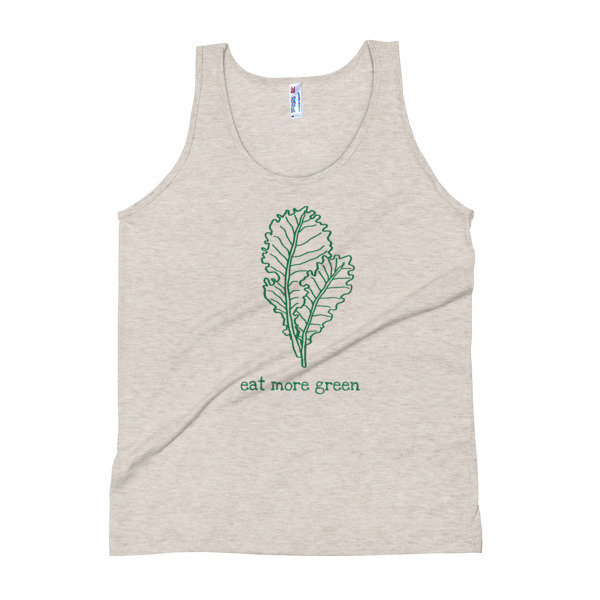 Unisex Tank Top - Eat More Green