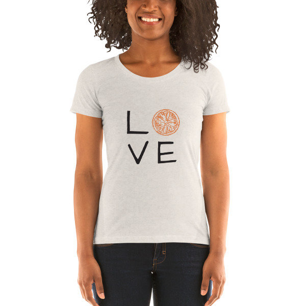 Ladies' short sleeve t-shirt - LOVE