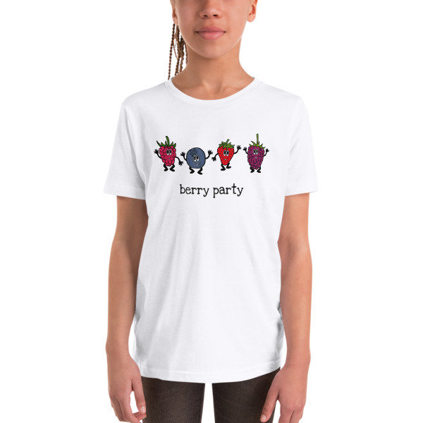 Youth Short Sleeve T-Shirt - Berry Party