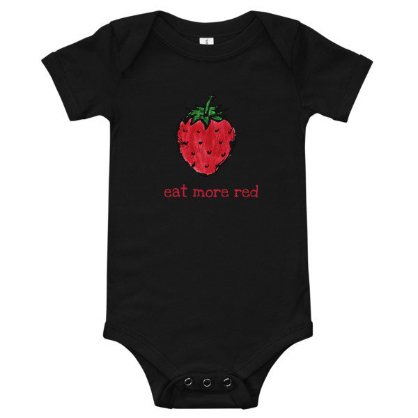 Baby Onesie - Eat More Red