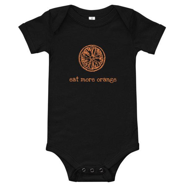 Baby Onesie - Eat More Orange