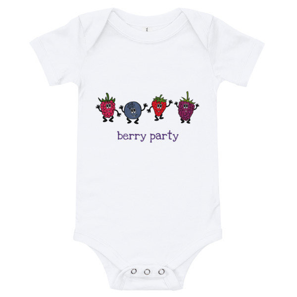Baby Onesie - Berry Party