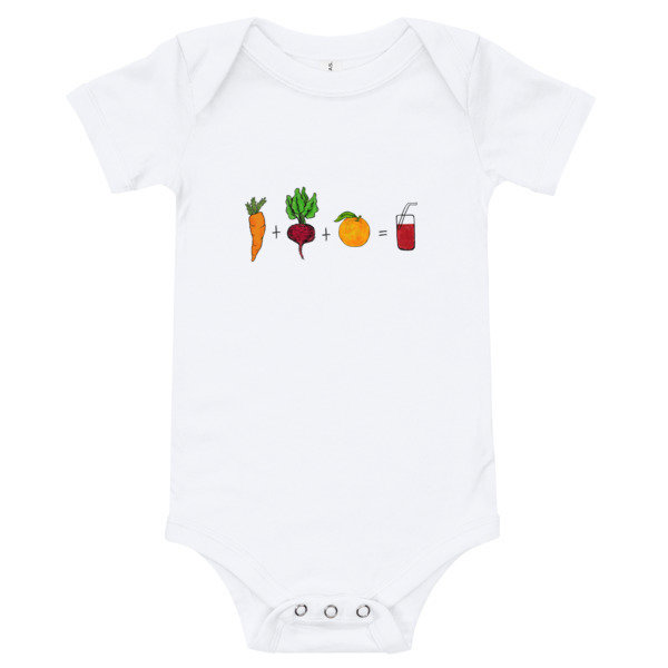 Baby Onesie - Red Juice Recipe