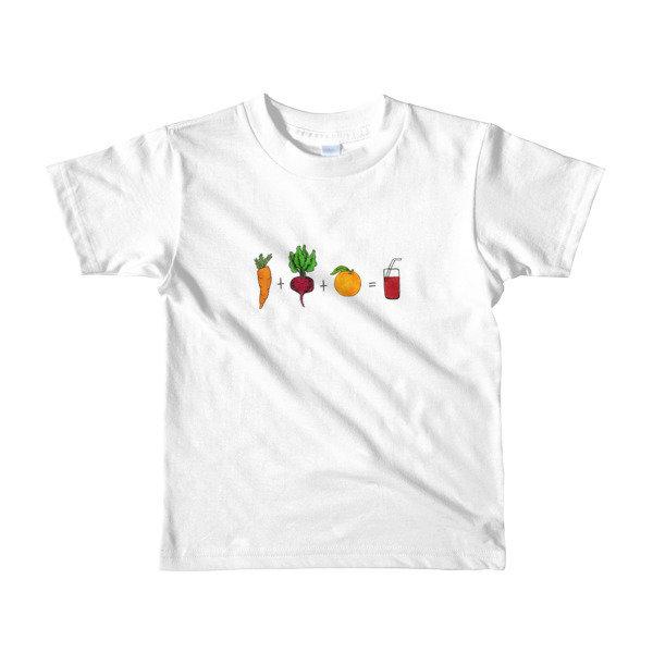Short sleeve kids t-shirt - Red Juice Recipe