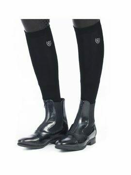 Equestrian Stockholm Long Socks Black
