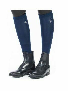 Equestrian Stockholm Long Socks Navy