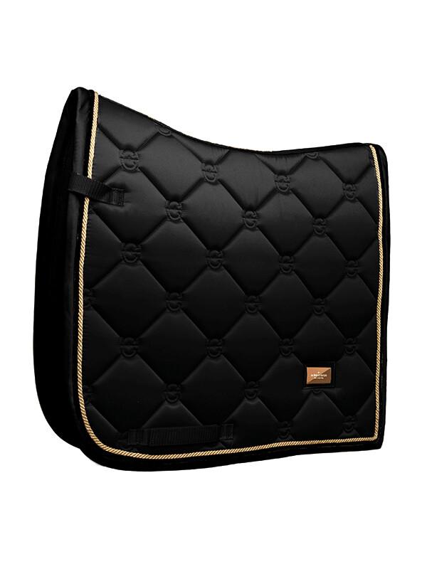 Dressage Saddle Pad Black Edition Gold
