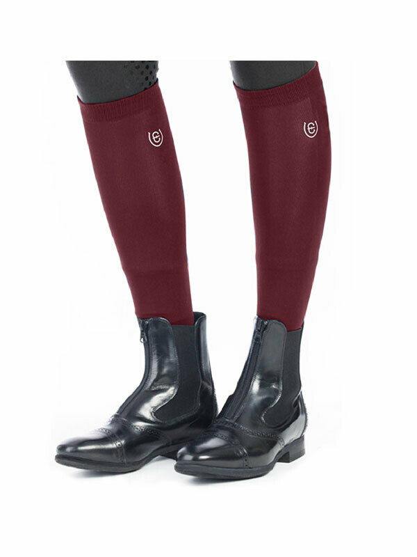 Riding socks Bordeaux