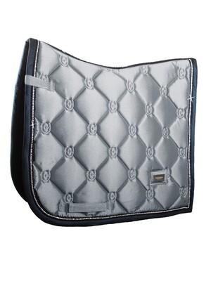 Dressage Saddle Pad Crystal Grey