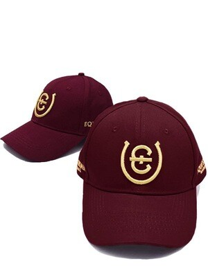 ES Cap Bordeaux Cotton