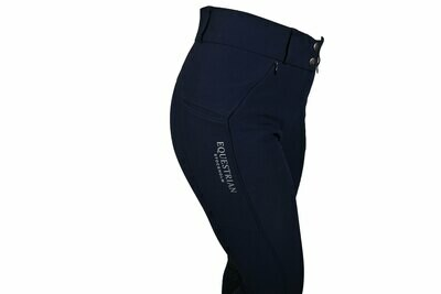 "Equestrian Stockholm ""Elite"" Riding Breeches Jump NAVY"