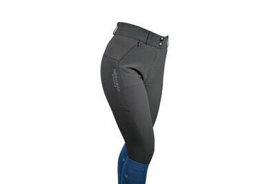 "Equestrian Stockholm ""Elite"" Riding Breeches Jump GREY"