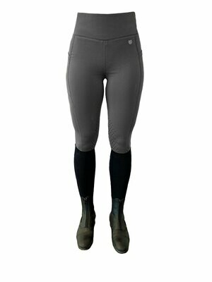 Equestrian Stockholm Tights Jump Grey