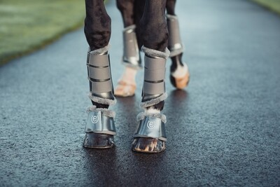 ES Bell Boots Silver Cloud