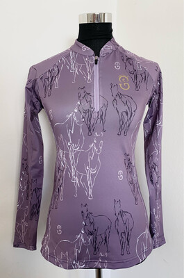 "Equi-Site ""RHEA"" UV Riding Shirt"