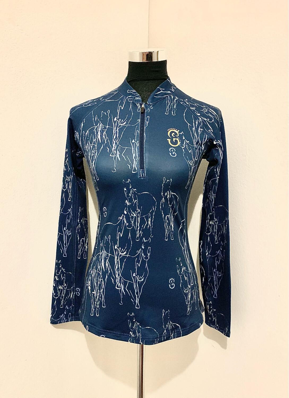 """Equi-Site """"MARMORIS"""" UV-Riding Shirt"""