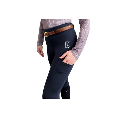 Equi-Site Riding Tights NAVY
