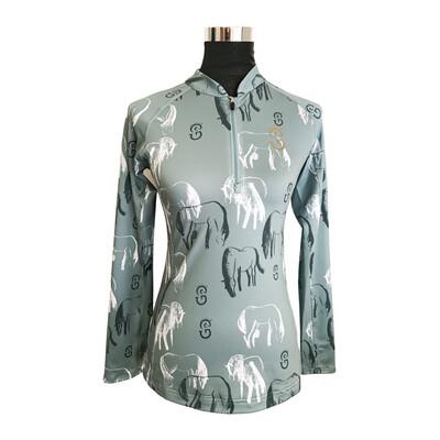 """Equi-Site """"Evika"""" UV- Riding Shirt"""