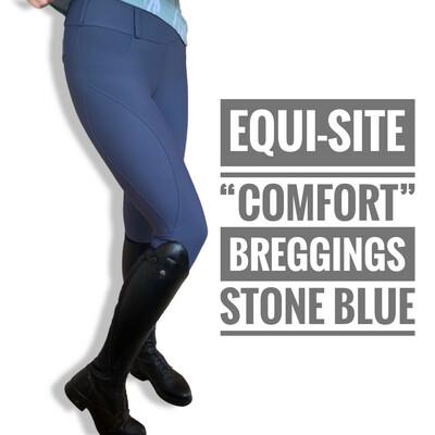 """Equi-Site """"Comfort"""" Breggings Stone Blue"""