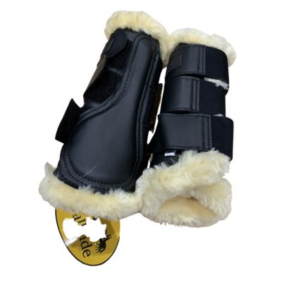 Sheepskin Brushing Boots Small New