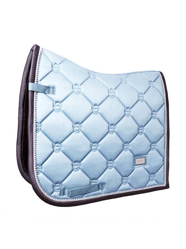 Dressage saddle pad Ice Blue