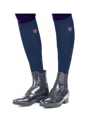 Long Riding Socks Monaco Blue