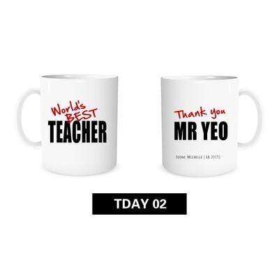 Teacher's Day Mug 02