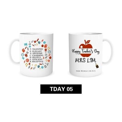 Teacher's Day Mug 05