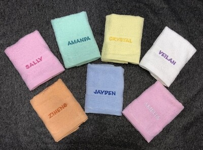 Personalised Face Towel