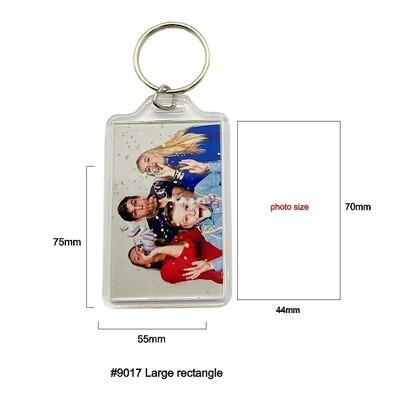 #9017 Large Rectangle Keychain