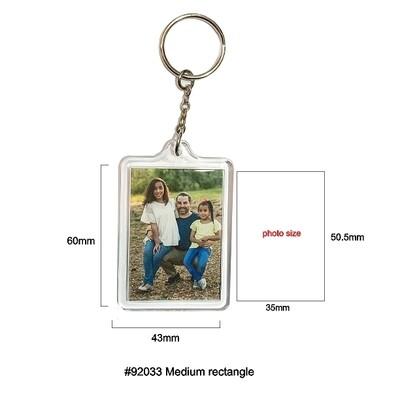 #92033 Medium Rectangle Keychain
