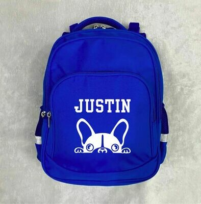 BP001 15 inch Backpack Blue
