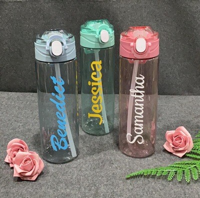 AS34 Bottle with Straw ( 850ml )